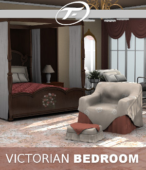 Victorian Bedroom 3D Models TruForm