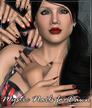 MYSTIC NAILS for Dawn  Anagord