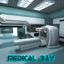 AJ Medical Bay 3D Models -AppleJack-