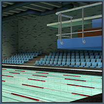 STZ Swimming pool 3D Models santuziy78