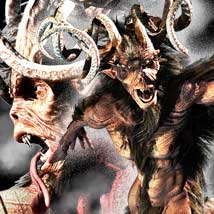 Krampus Themed Stand Alone Figures sixus1