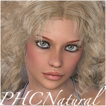 PHCNatural : SAV Semiramis Hair Themed P3D-Art
