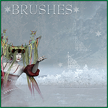 doarte's WINTER HOLIDAYS Brushes 2D And/Or Merchant Resources Themed doarte