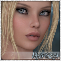 SV7 Marissa 3D Figure Essentials 3D Models Seven