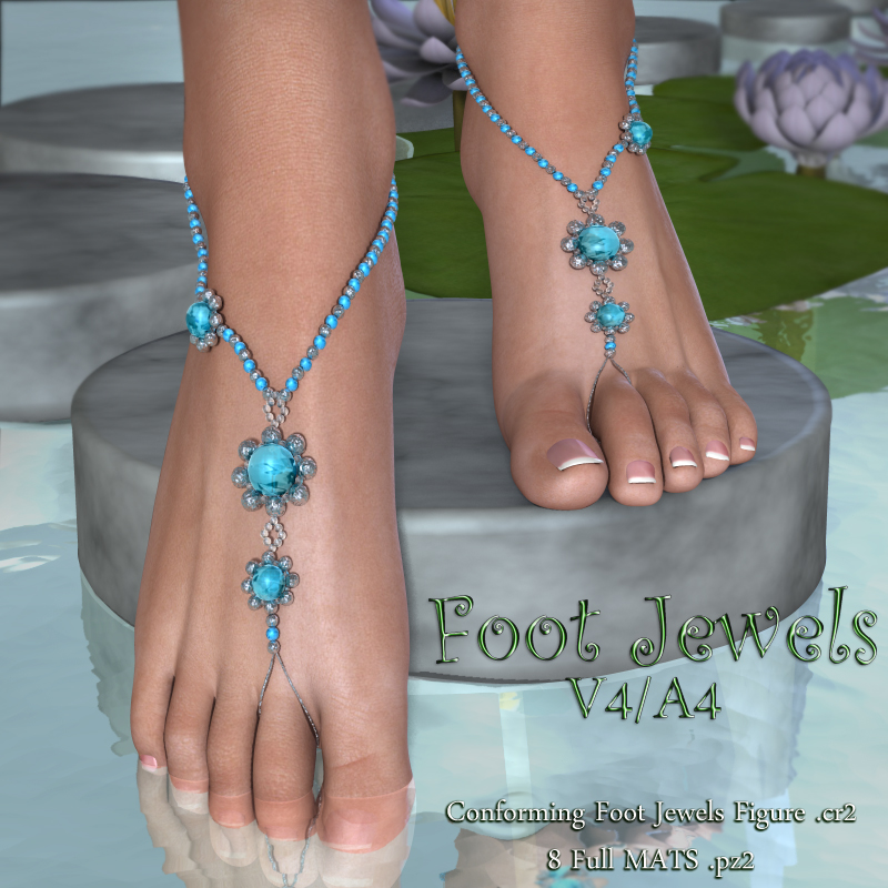 Foot Jewels V4-A4