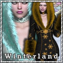Winterland 3D Figure Essentials 3D Models sandra_bonello