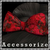Accessorize 04: Raphsody Bows 3D Figure Essentials sandra_bonello