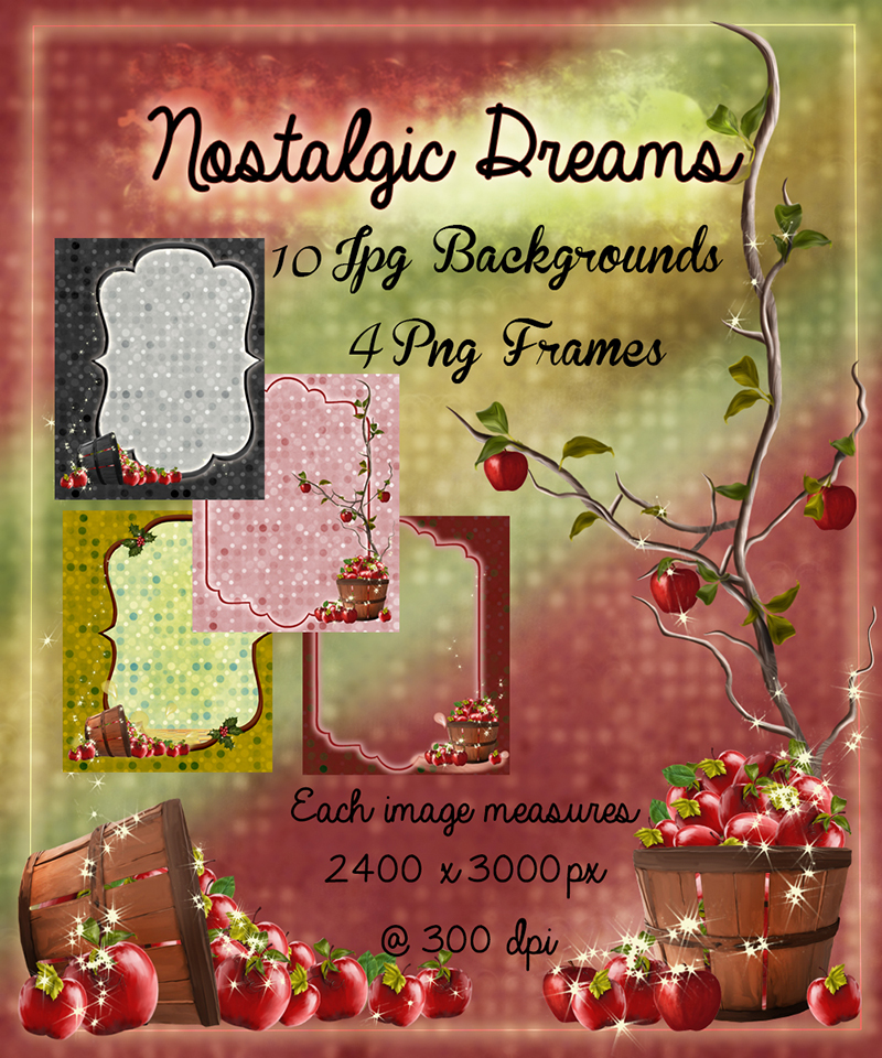Nostalgic Dreams Backgrounds