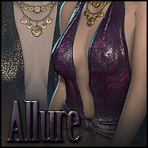 Allure for Attraction 3D Figure Assets Sveva