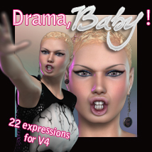 Drama, Baby! 3D Figure Essentials lexana