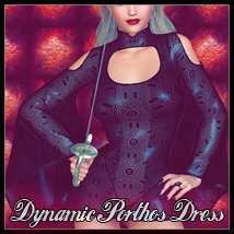 Dynamic Porthos Dress 3D Figure Essentials SynfulMindz