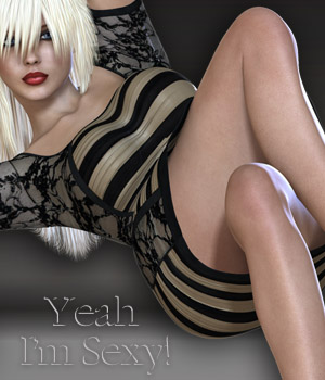 Yeah I'm Sexy! - Primavera Dress 3D Models 3D Figure Essentials nirvy