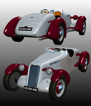 EDFOR 1937 ( for Poser ) 3D Models 3DClassics