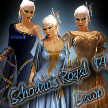 Sshodan's Royal V4&Dawn 3D Figure Assets Sshodan