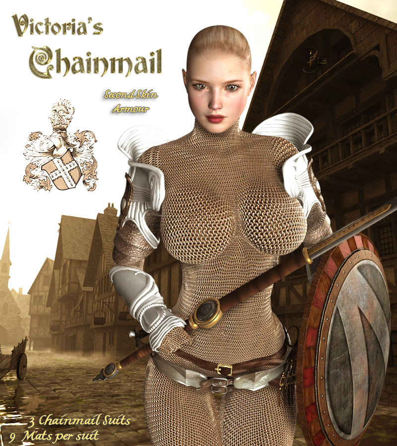 Victoria's Chainmail by Darkworld