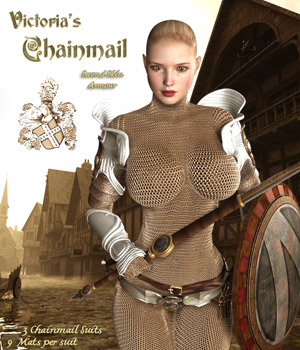 Victoria's Chainmail 3D Models 3D Figure Essentials Darkworld