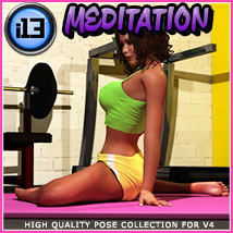 i13 MEDITATION Software Themed Poses/Expressions ironman13