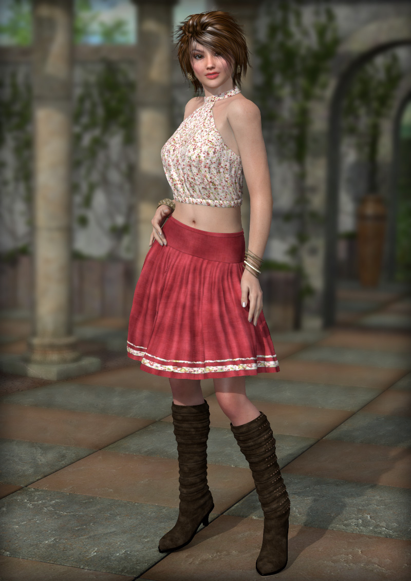 Always Summer with FREE Lydia Boots for V4