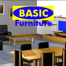 Basic Furniture 3D Models apcgraficos