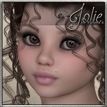 SV7 Jolie 3D Models 3D Figure Essentials Seven