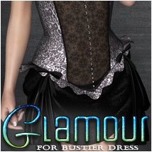 Glamour for Bustier Dress Clothing OziChick