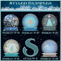 Design Resource: WINTER Overlays &  Layer Styles Pack image 4