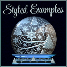 Design Resource: WINTER Overlays &  Layer Styles Pack image 5