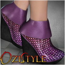 OziStyle: Marty Boots 3D Figure Essentials 3D Models OziChick