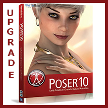 UPGRADE Poser 10 Software Smith_Micro