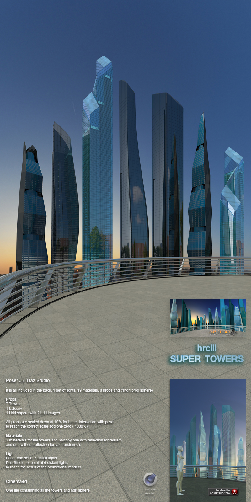 hrc lll super towers by whitemagus