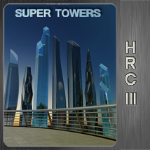 hrc lll super towers 3D Models whitemagus