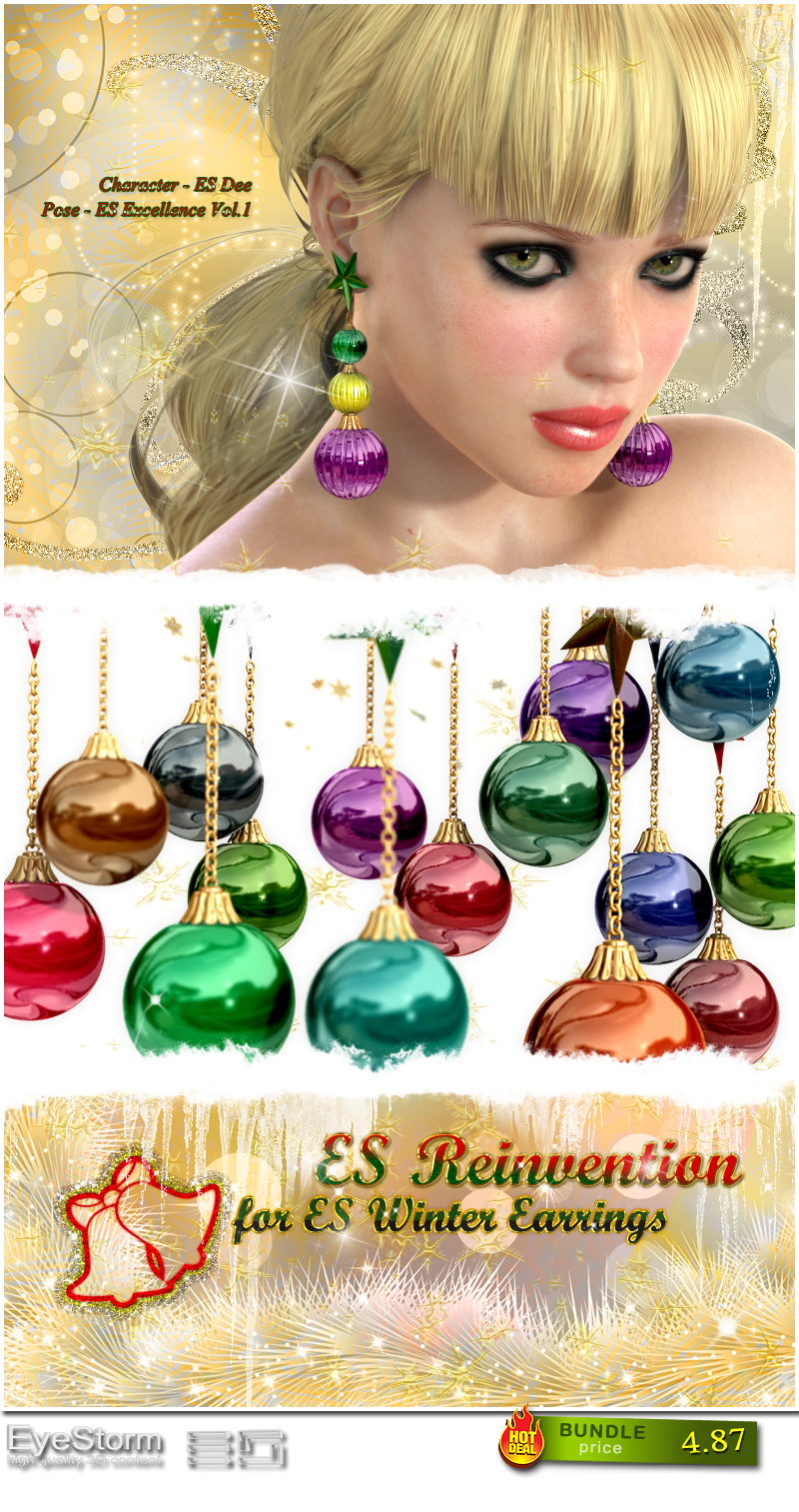 ES - REINVENTION - for ES Winter Earrings