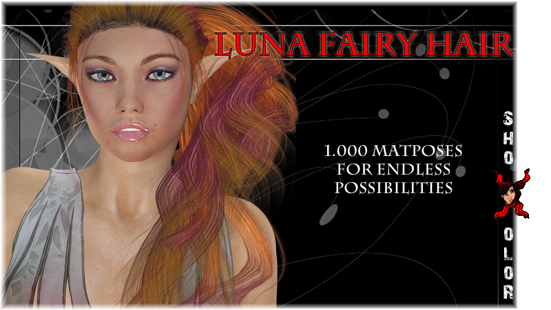 ShoXoloR for Luna Fairy Hair