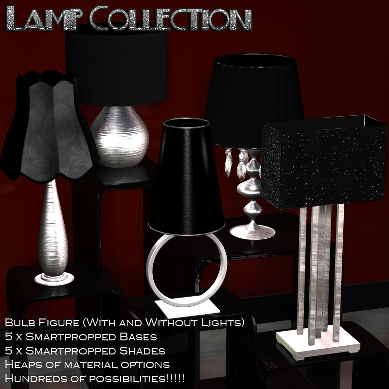 Lamp Collection - Poser