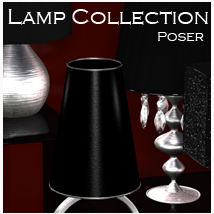 Lamp Collection - Poser Software 3D Models nikisatez
