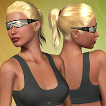 V4 Workout III Outfit 3D Figure Assets Richabri