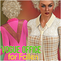 Vogue Cafe for Fallen Clothing Atenais