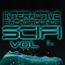 Interactive Backgrounds: Vol3 - Sci-Fi 2D Graphics Hinkypunk