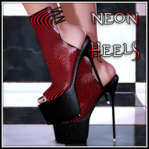 Neon Heels 3D Figure Essentials SynfulMindz