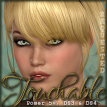 Touchable Jewell Hair Themed -Wolfie-