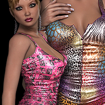 NYC Couture: Innocent Sexy 3D Figure Essentials 3DSublimeProductions
