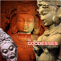 Indian Gods and Goddesses Stock Photography Themed RajRaja