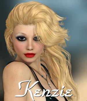 kenzie for V4.2 3D Figure Assets chrislenn