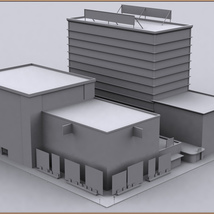 Movie Sets, Low Poly 05 image 10
