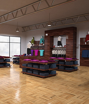Clothing Store Interior Props/Scenes/Architecture Themed Software RPublishing