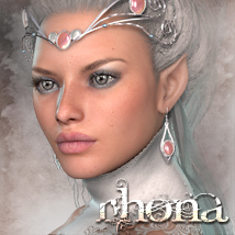 MDD Rhona for V4.2 3D Figure Essentials Maddelirium