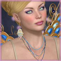 Dazzle for The Jewelry Store Set 3 Themed Accessories -Wolfie-