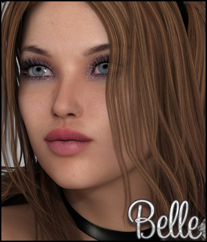 Belle Characters Themed Software Silver