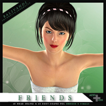 FRIENDS G2F AddOn 3D Figure Essentials Balivandi