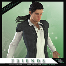 FRIENDS G2M AddOn 3D Figure Essentials Balivandi